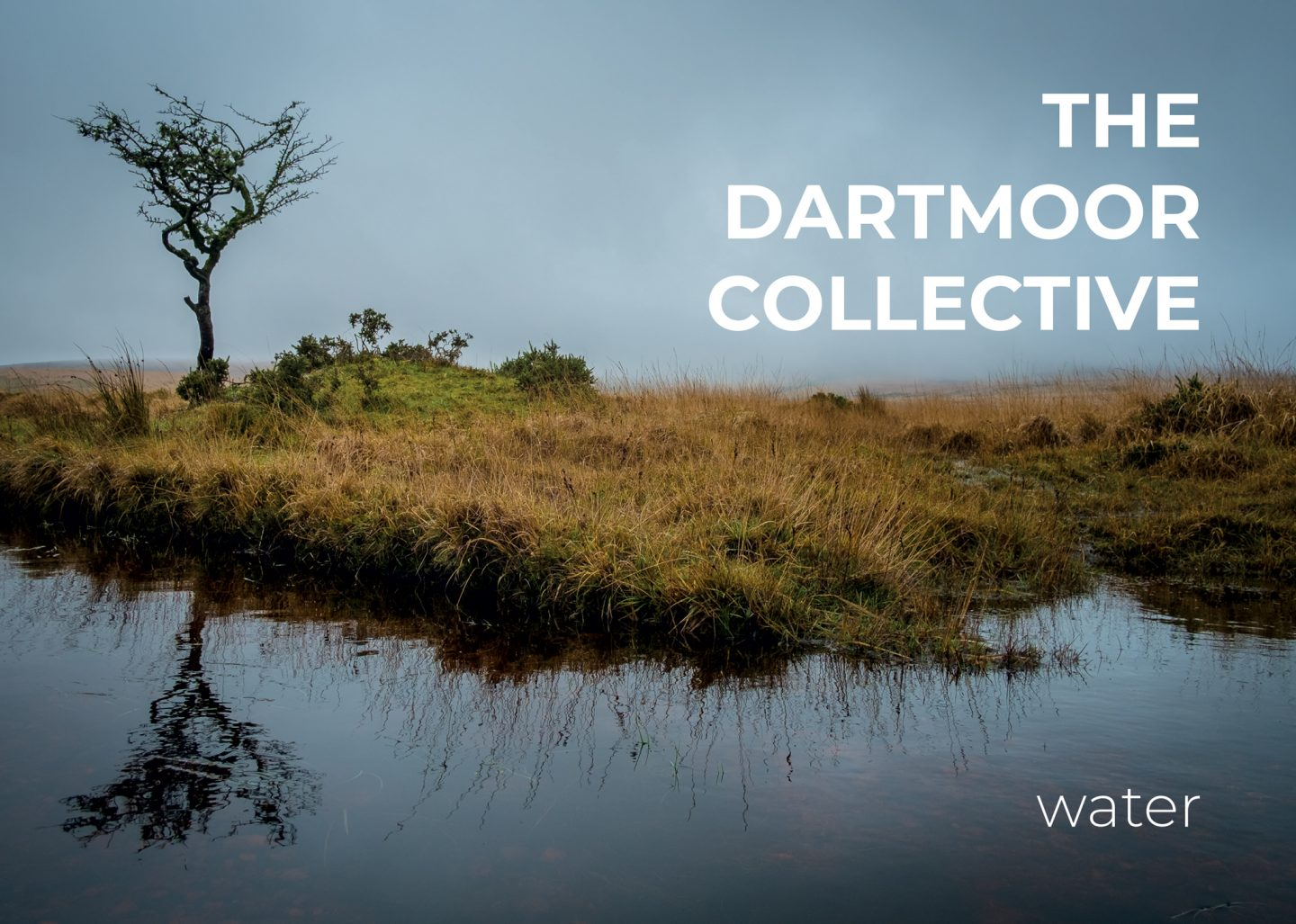 Front cover of the Dartmoor Collective 'Water' photozine (photo by Simon Blackbourn)
